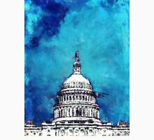 Stormy Weather Over The Capitol Unisex T-Shirt