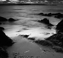 Moonlit tide on Yell, one of the Shetland Isles. by AndyMartin