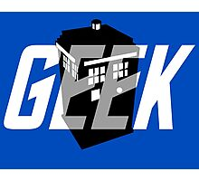 Geek My Ride- TARDIS Photographic Print