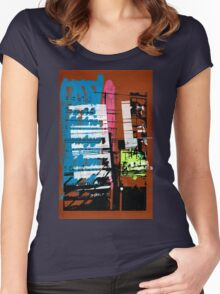 Thailand Facade Women's Fitted Scoop T-Shirt