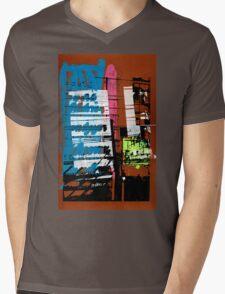 Thailand Facade Mens V-Neck T-Shirt
