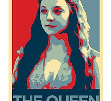 Margaery Tyrell Hope Poster by gameofshirts