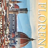 Cities of the World: FLORENCE - Cover and stickers by TheyCallMeCCV