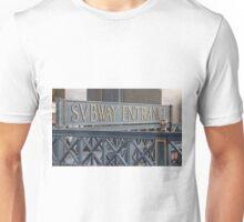 Svbway Entrance Unisex T-Shirt