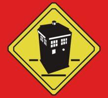 TARDIS Crossing One Piece - Short Sleeve