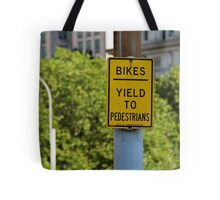 Signs of New York Tote Bag