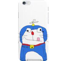 Crazy Doraemon iPhone Case/Skin