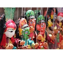 Traditional Puppets Photographic Print