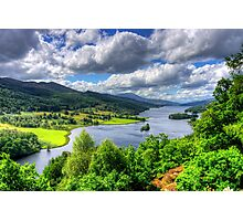 Looking over Loch Tummel Photographic Print