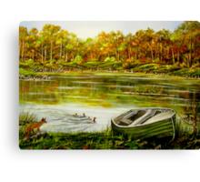 Irish Countryside - Oil Painting Canvas Print