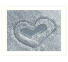 You Make My Heart Melt Art Print