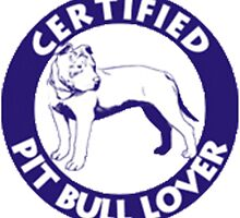 Certified pitbull lover by zalfotarum