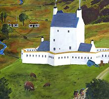 Corgarff Castle by cornelius b o'reilly