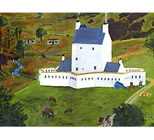 Corgarff Castle Photographic Print