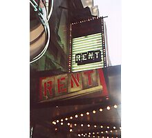 Rent Photographic Print
