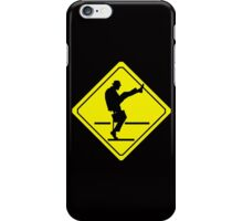 Silly Walks Crossing iPhone Case/Skin