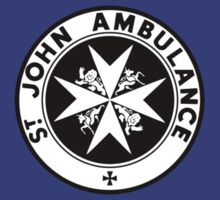 TARDIS St. John's Ambulance Logo (available as leggings!) by zenjamin