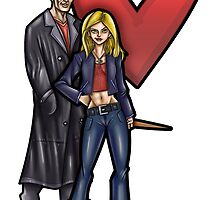 Buffy&Spike by WarpZoneGraphic
