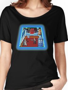 Doctor Who: The Arcade Game Women's Relaxed Fit T-Shirt