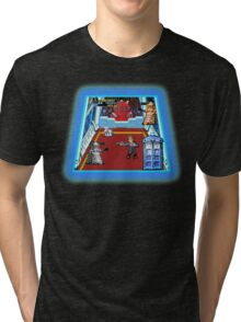 Doctor Who: The Arcade Game Tri-blend T-Shirt