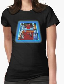 Doctor Who: The Arcade Game Womens Fitted T-Shirt