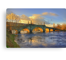 Wade's Bridge at Aberfeldy Canvas Print