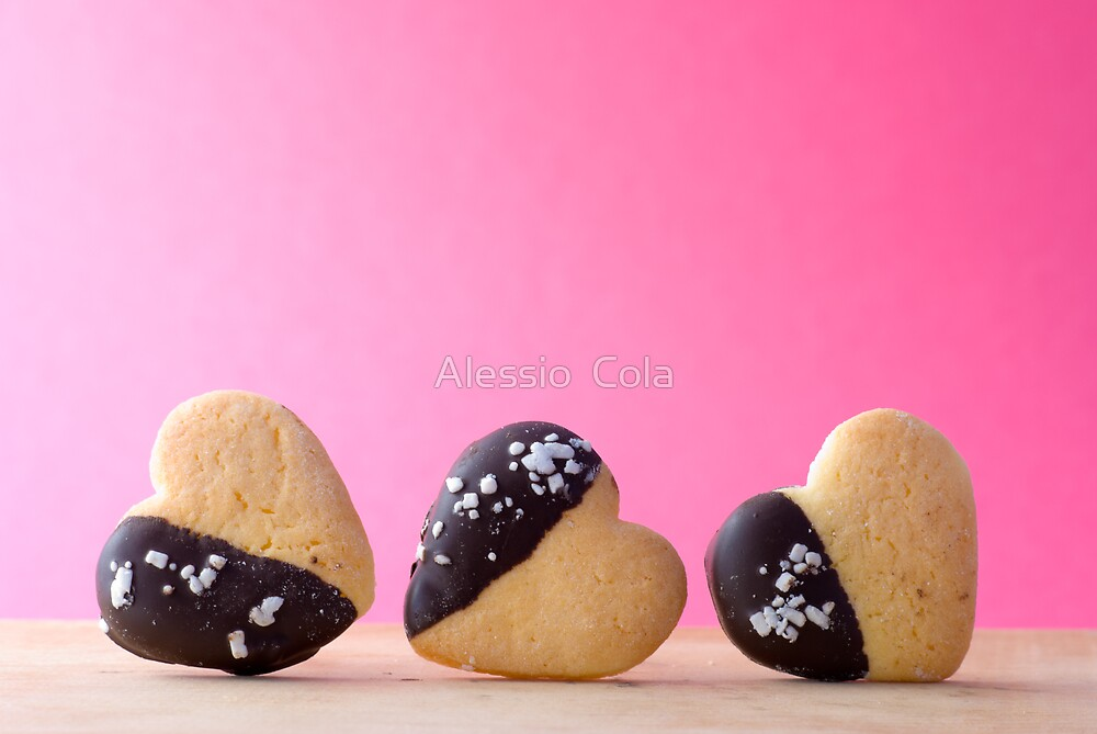 Heart Shape Biscuit by Alessio  Cola