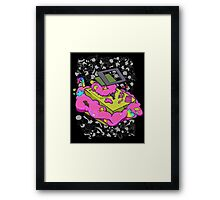 Game boy candy overload Framed Print