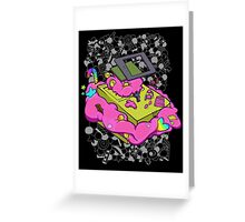 Game boy candy overload Greeting Card