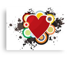 Heart - I Love Heart Canvas Print