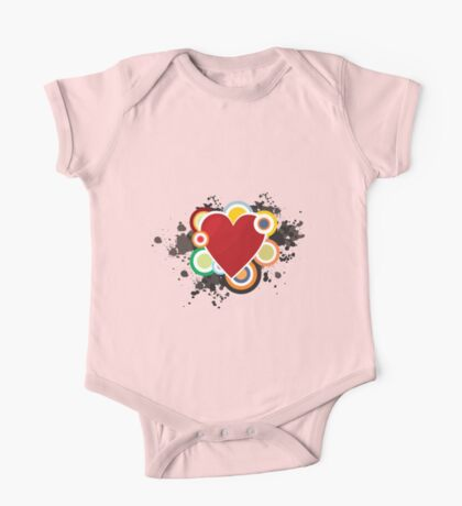 Heart - I Love Heart One Piece - Short Sleeve