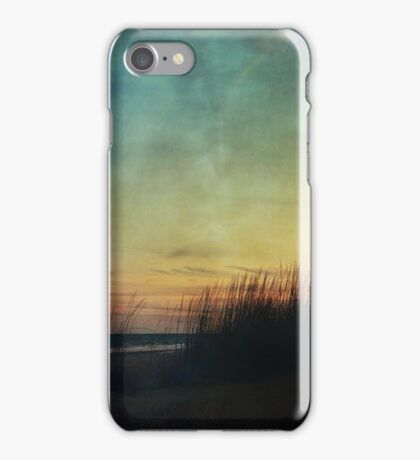 Floating in a Turquoise Sea iPhone Case/Skin