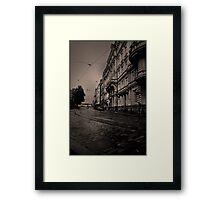 Dull day Framed Print