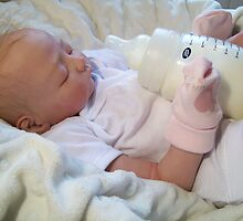 Callie Reborn Doll by Cassie Peek