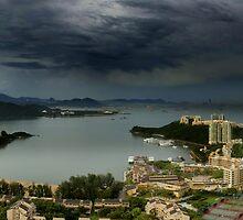 D BAY, HONG KONG  by Eamon Fitzpatrick