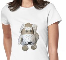 Dotty Dog Womens Fitted T-Shirt