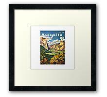 Yosemite Travel Framed Print