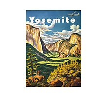 Yosemite Travel Photographic Print