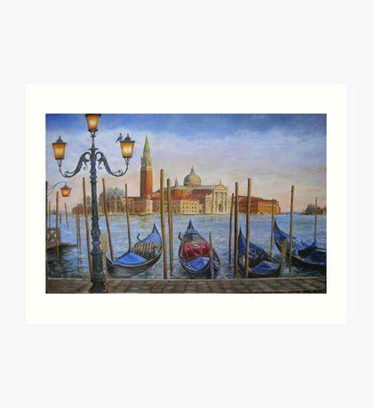 San Giorgio Maggiore, Venice Art Print