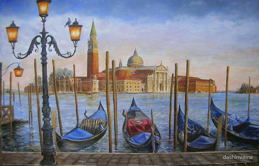 San Giorgio Maggiore, Venice by dashinvaine