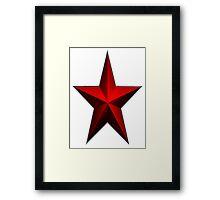 Be A Star Framed Print
