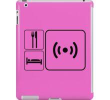 Eat Sleep WiFi iPad Case/Skin