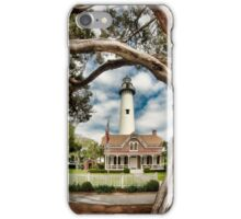 St. Simons Island Lighthouse  iPhone Case/Skin