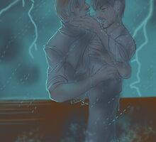 Hannigram - Saved from the storm by Furiarossa
