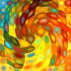 Swirling Wall by Betty Mackey