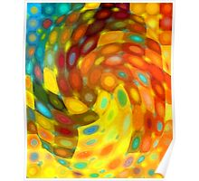 Swirling Wall Poster