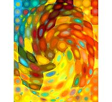 Swirling Wall Photographic Print