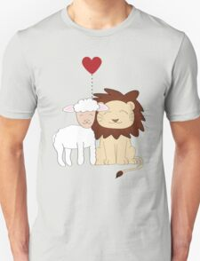 The lion and the lamb Unisex T-Shirt