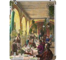 Restaurant - Waiting for service - 1890 iPad Case/Skin