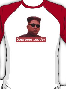 Kim Jong-un new haircut North Korea supreme leader T-Shirt